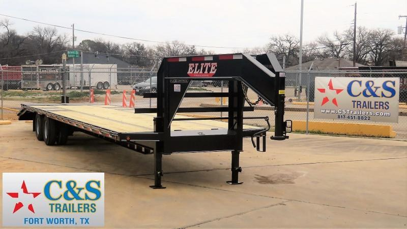 2019 Elite Trailers 102x 36 Equipment Trailer