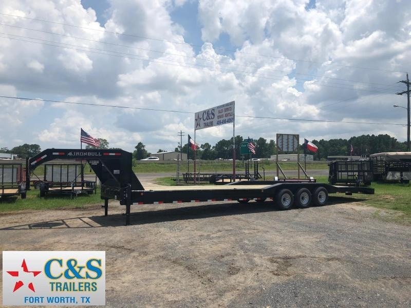 2019 Iron Bull 102 x 34 Flatbed Trailer