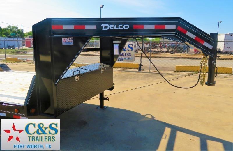 2019 Delco Trailers 102 x 24 Equipment Trailer