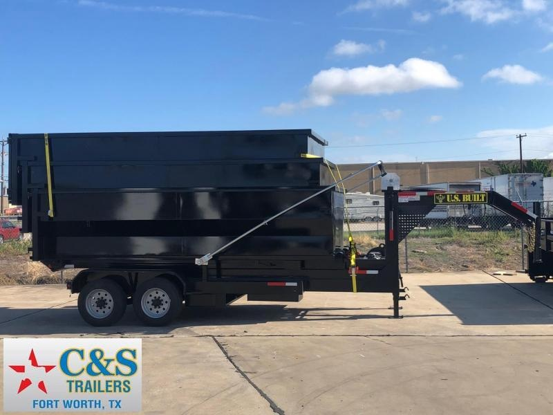 2019 U.S. Built 7 x 14 Roll Off Dump Trailer
