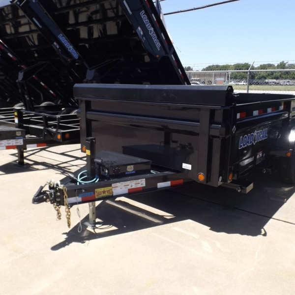 Rental 72 - Load Trail 7' x 14' Dump Trailer