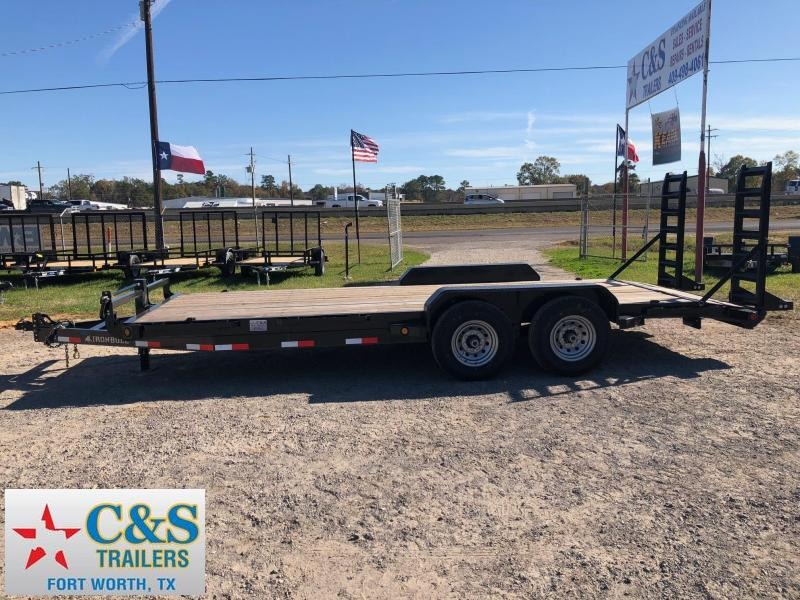 2018 Iron Bull 83x20 Car / Racing Trailer