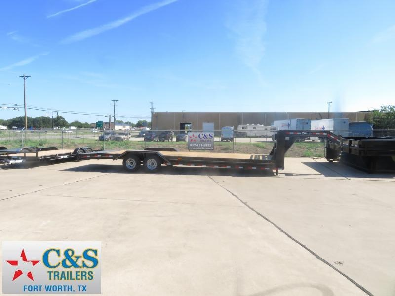 2019 Delco Trailers 102 x 28 Equipment Trailer