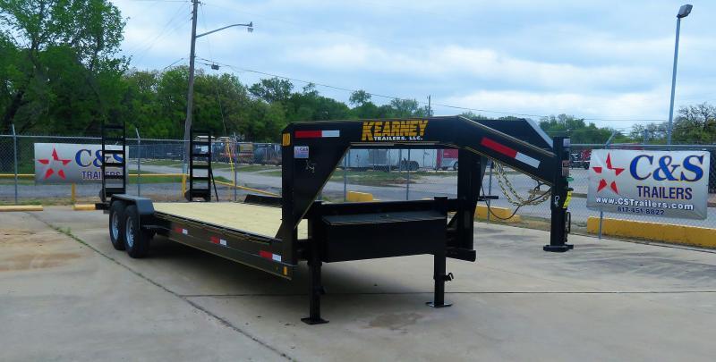 "2019 Kearney 82"" x 24' GN Equipment Trailer"
