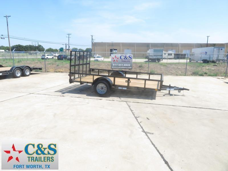 2019 Buck Dandy 77 x 12 Utility Trailer