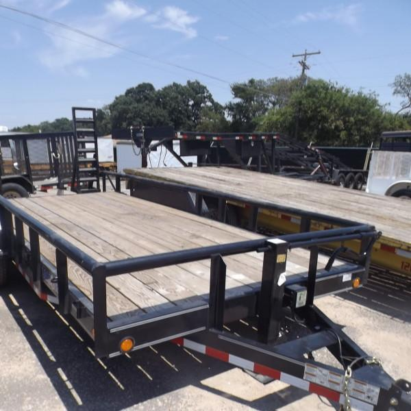 "Rental 36 - Load Trail 83"" x 18' Equipment Trailer"