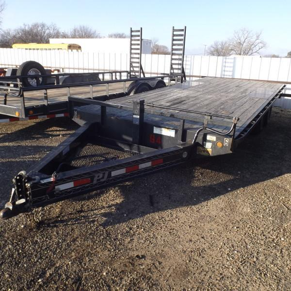 "Rental 64 - PJ Trailers 91"" x 20' Equipment Trailer"