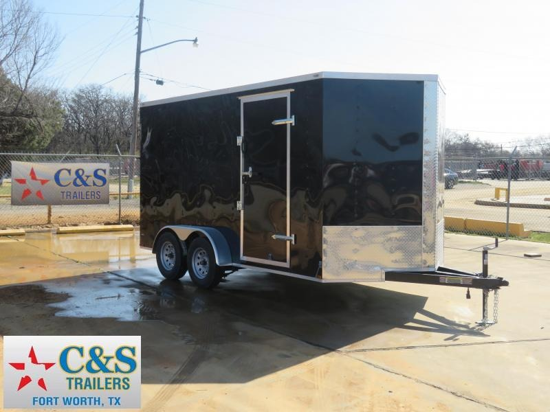 2019 Lark 7X14 TA Enclosed Cargo Trailer
