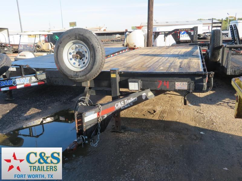 Rental 74 - 2015 Other 24 Deckover Flatbed Trailer
