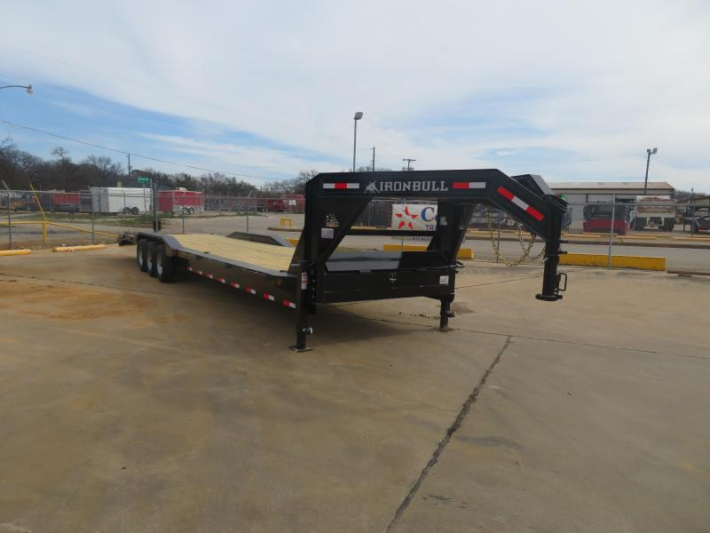 "2019 Iron Bull 102"" x 36' Gooseneck Equipment Trailer"