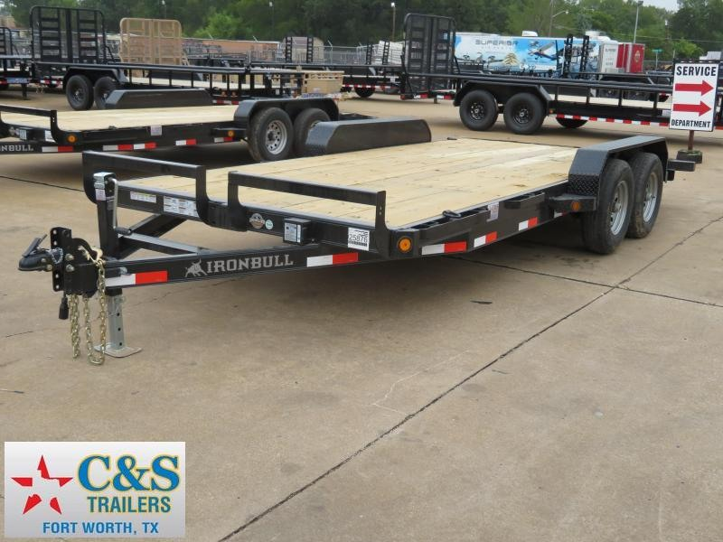 2018 Iron Bull ETB8318 Equipment Trailer