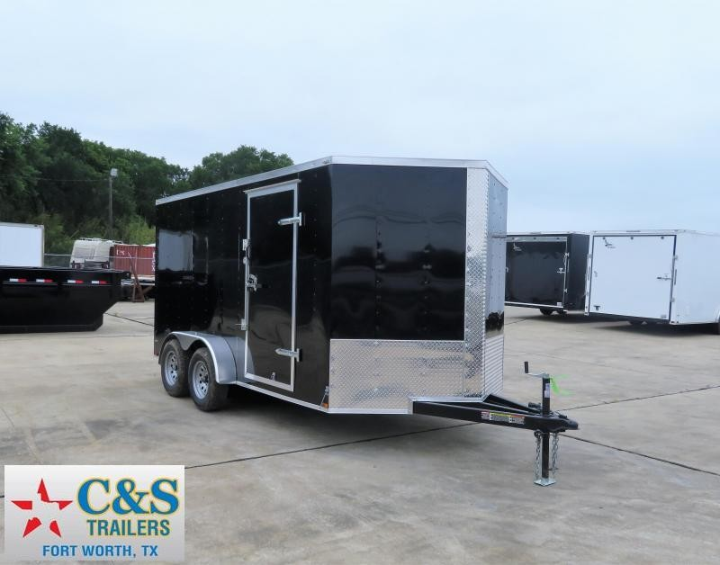 2019 Lark 7 X 14 TA Enclosed Cargo Trailer