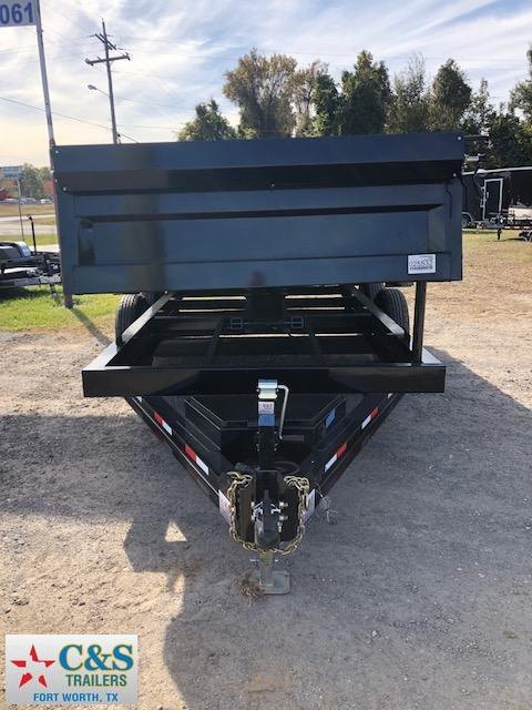 2019 Iron Bull 83 X 14 Dump Trailer