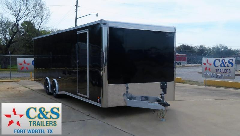 2019 Bravo Trailers 102 x 28 Enclosed Cargo Trailer
