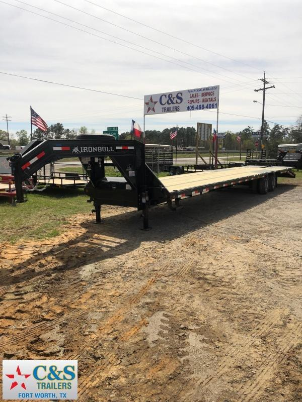 2018 Iron Bull 102x40 GNDTA Equipment Trailer