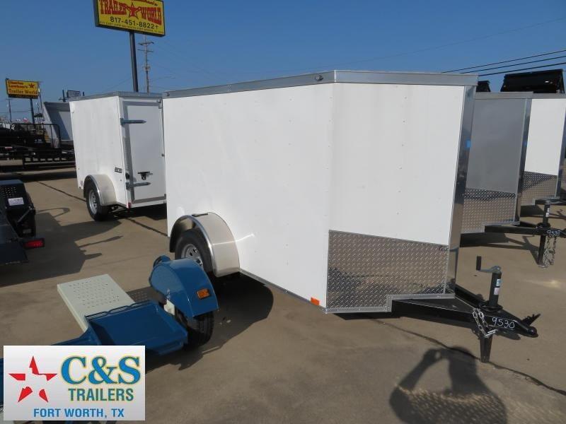 2019 Spartan 5x8 Enclosed Cargo Trailer