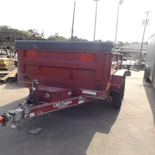 "Rental 55 - Lamar 77"" x 10' Dump Trailer"