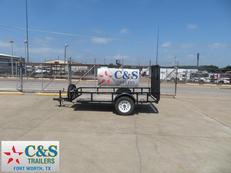 2019 Top Hat Trailers 77 x 12 Utility Trailer