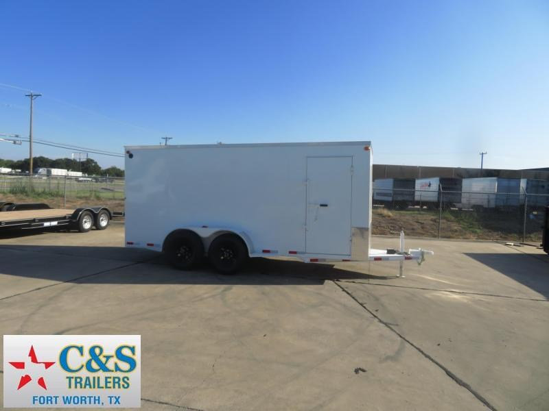 2019 Delco Trailers 80 x 16 Enclosed Cargo Trailer