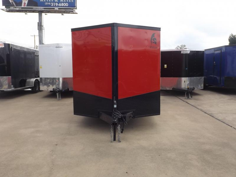 2018 Spartan SP7X16TA Enclosed Cargo Trailer