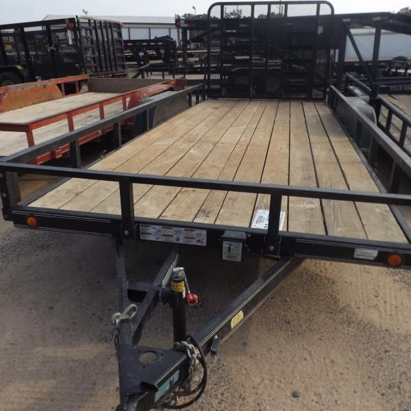 "Rental 53 - Load Trail 83"" x 18' Utility Trailer"