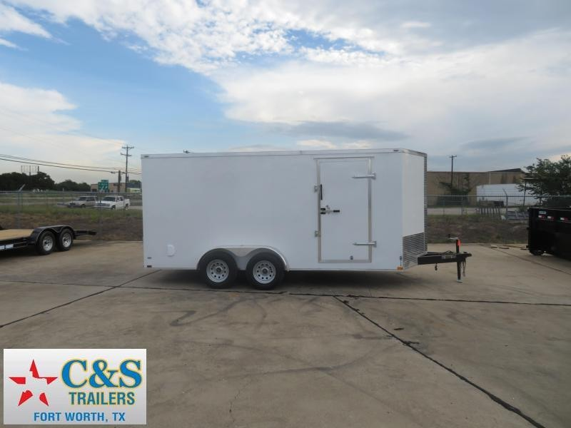 2019 Lark 7 X 16 Enclosed Cargo Trailer