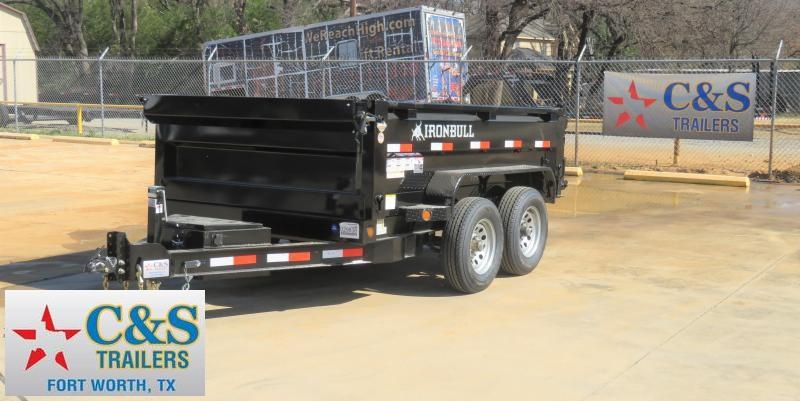 2019 Iron Bull 6x10 Dump Trailer