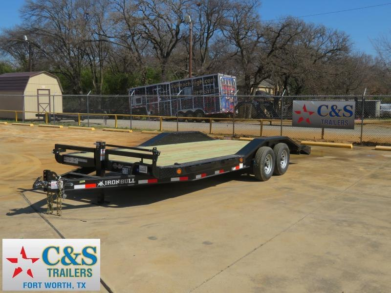 2019 Iron Bull 102 x 20 Equipment Trailer