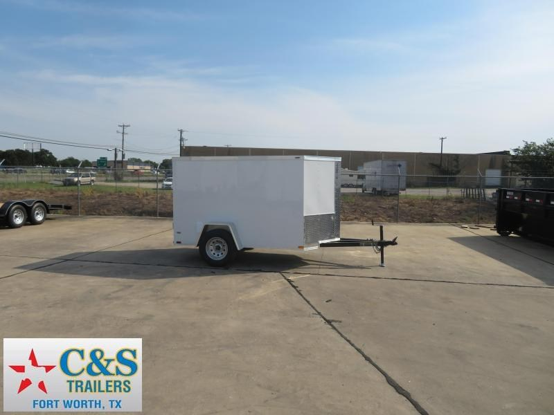 2019 Lark 5 X 8 SA Enclosed Cargo Trailer