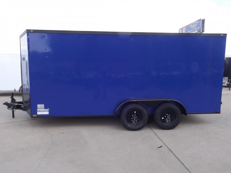 2017 Spartan SP7X16TA Enclosed Cargo Trailer