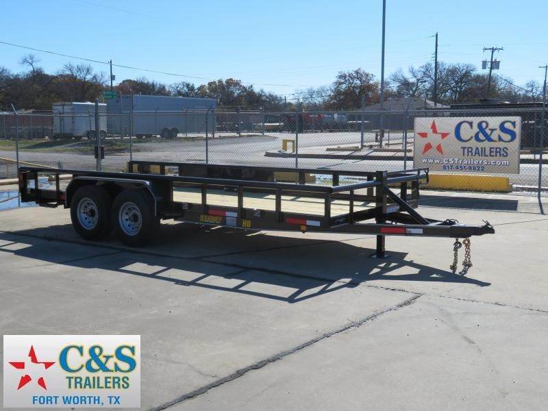 2019 Kearney 82 x 18 Equipment Trailer