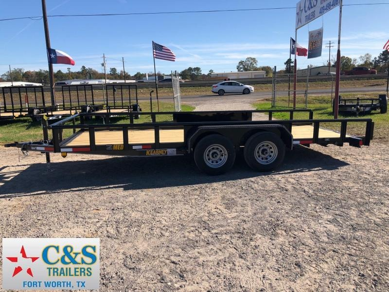 2018 Kearney 83x18 BPTA Equipment Trailer
