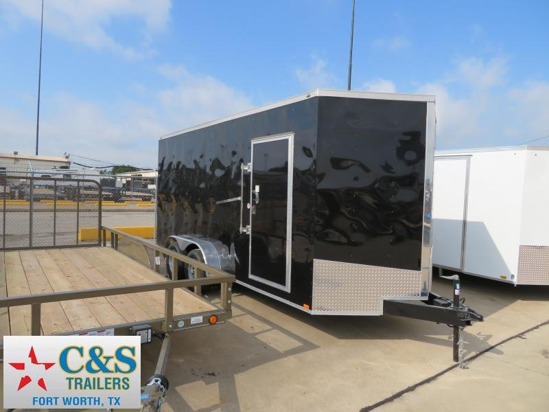 2018 Spartan 7X16 Enclosed Cargo Trailer
