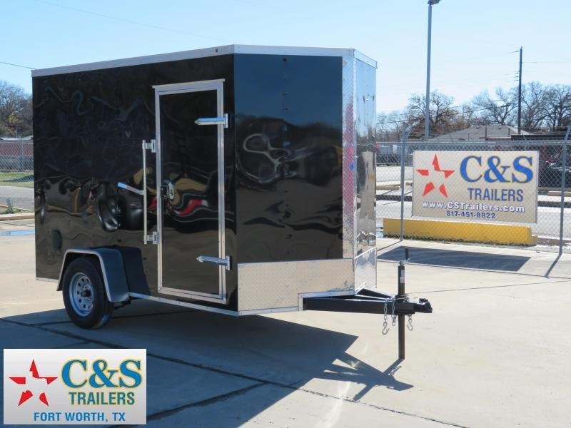 2019 Salvation Trailers 6 x 10 Enclosed Cargo Trailer
