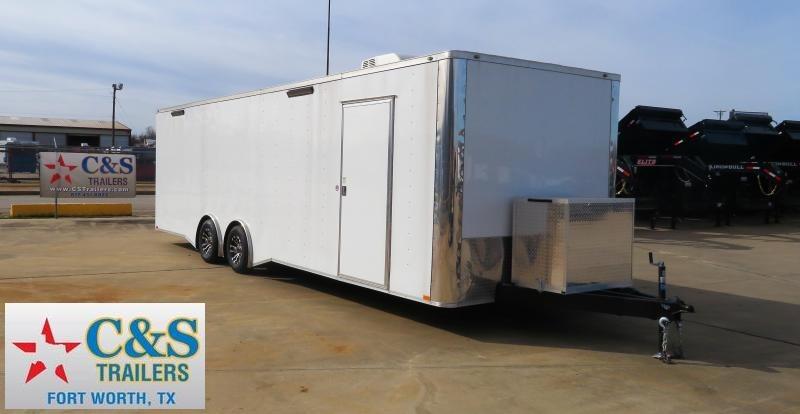 2019 Spartan 102 x 28 Race Trailer Enclosed Cargo Trailer