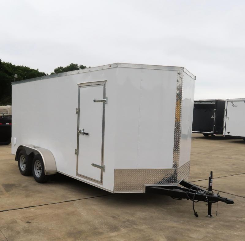 2019 Salvation 7' x 16' Enclosed Cargo Trailer