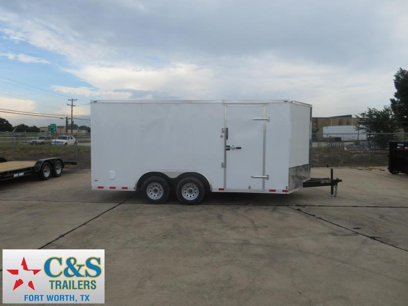2019 Lark 8.5 X 16 Enclosed Cargo Trailer