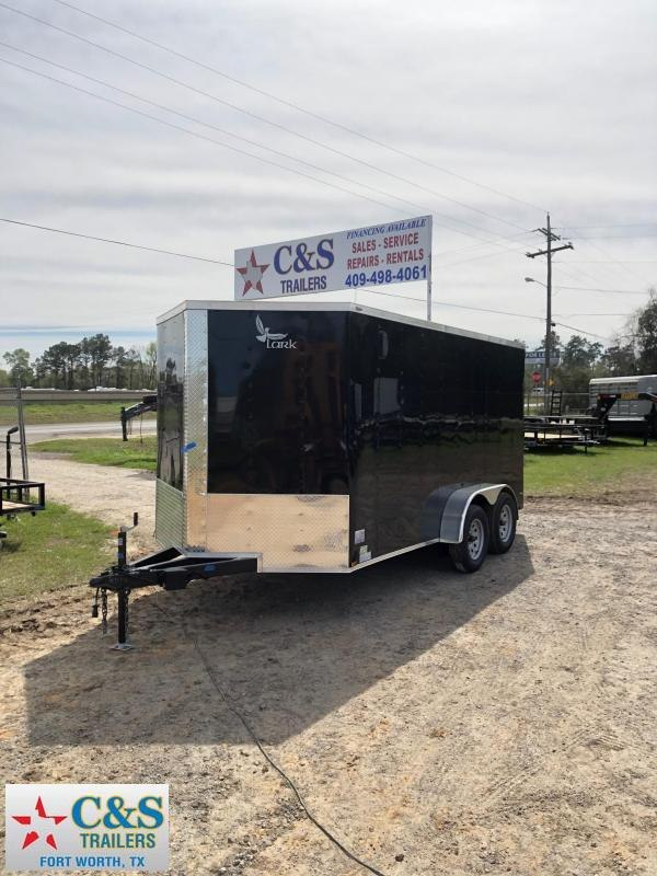 2019 Lark 7x14 BPTA Enclosed Cargo Trailer