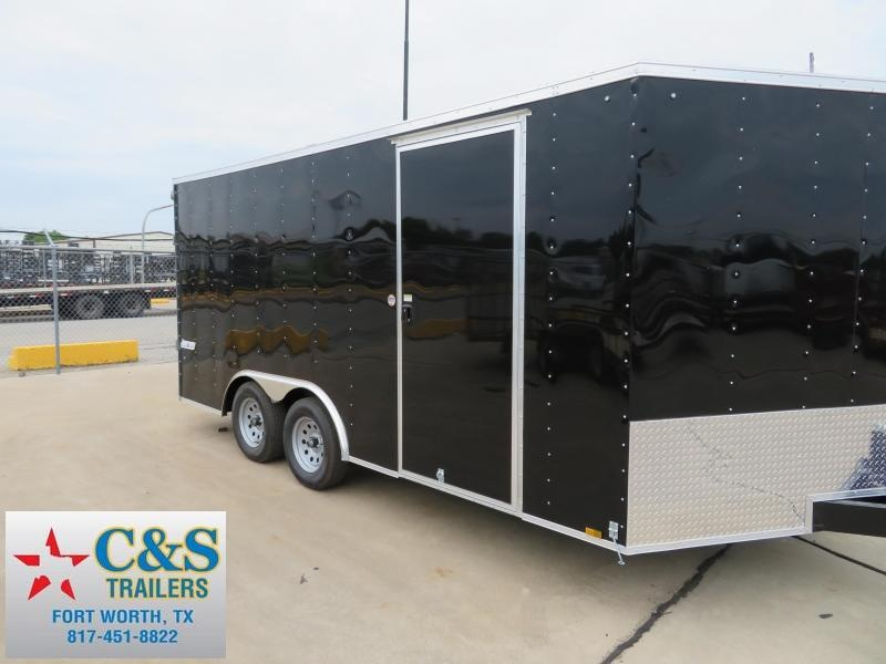 2018 Pace American 8.5X16 Enclosed Cargo Trailer