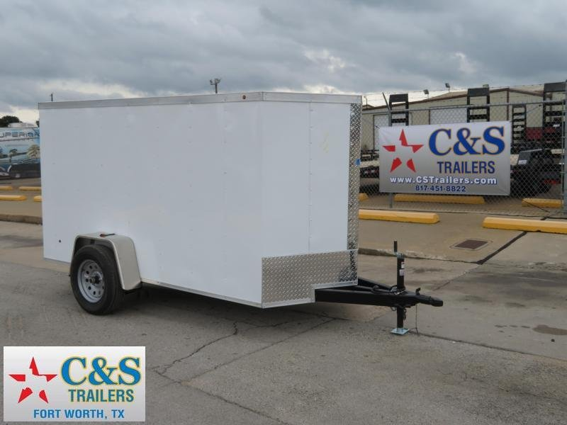 2019 Salvation 5 x 10 Enclosed Cargo Trailer