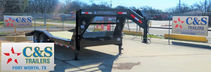 "2019 Iron Bull 102"" X 20' Equipment Trailer"