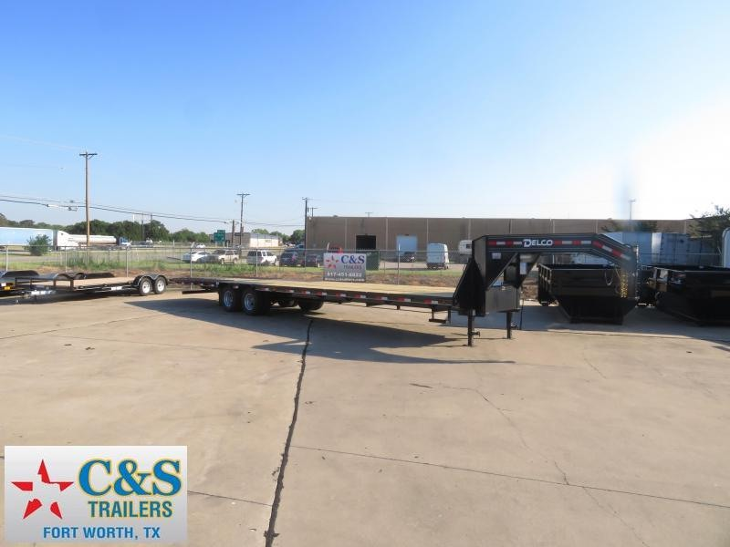 2019 Delco Trailers 102 X 36 Equipment Trailer