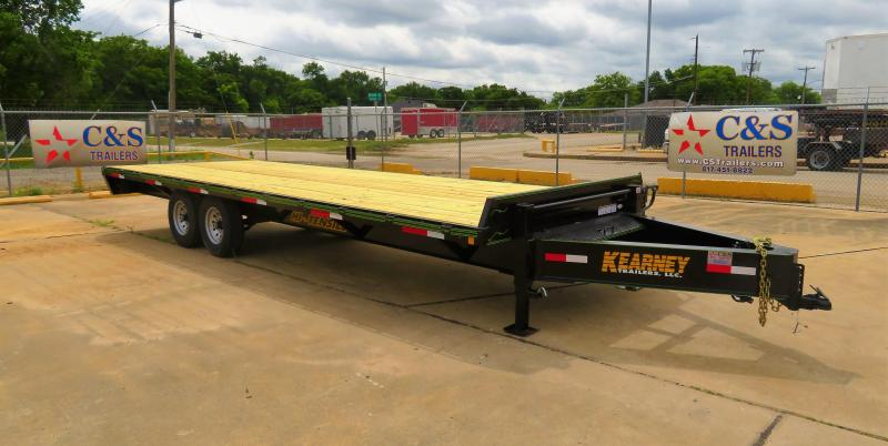 "2019 Kearney 102"" x 24' Equipment Trailer"