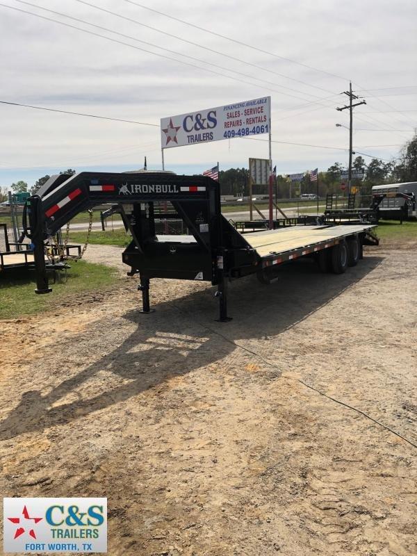 2019 Iron Bull 120x25 GNDTA Equipment Trailer
