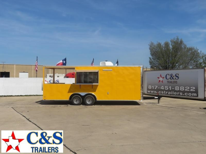 2020 Lark 8.5 x 22 Vending / Concession Trailer