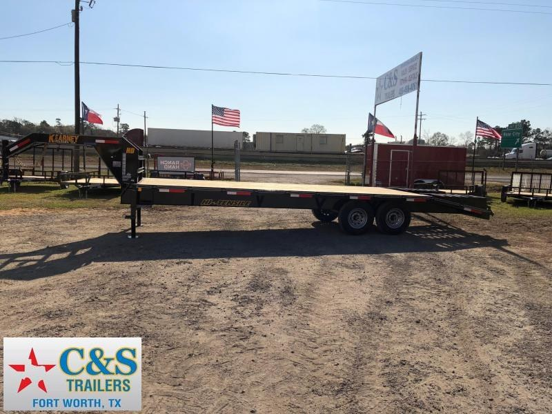 2019 Kearney 102x25 GNTA Equipment Trailer
