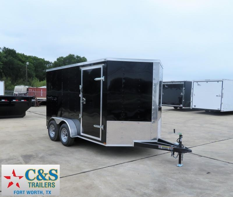 2019 Lark 7 x 12 TA Enclosed Cargo Trailer