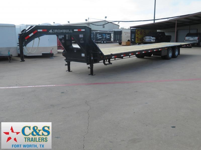 2018 Iron Bull 102 X 36 Flatbed Trailer
