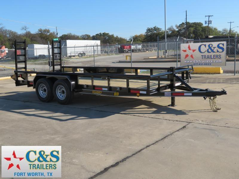 2019 Kearney 83 x 18 Equipment Trailer