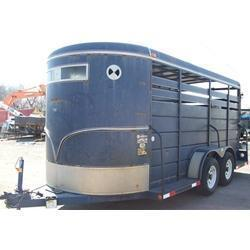 Rental 41 - S and H 16' Stock Trailer